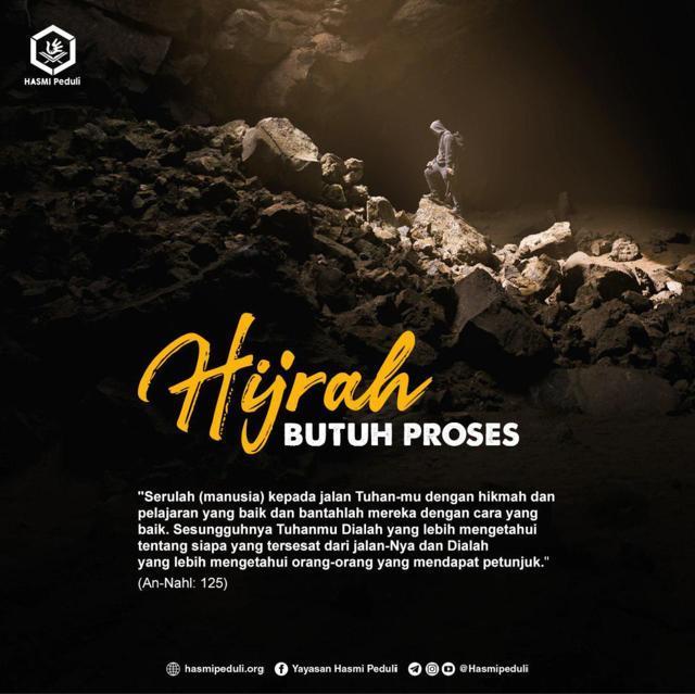 Hijrah Butuh Proses Hasmi Peduli