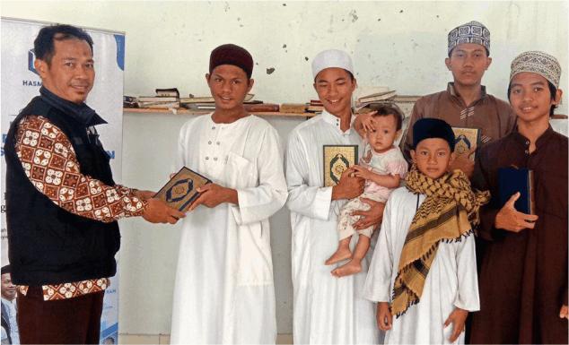 MUSHAF QUR'AN UNTUK SANTRI PONPES NURUL HIDAYAH – BOGOR