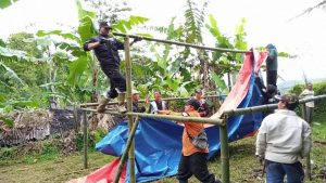 HASMI Bangun 60 Tenda Darurat Untuk Korban Banjir dan Longsor