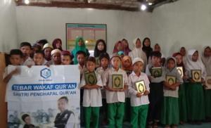 WAKAF QUR'AN UNTUK PONPES NURUL ISLAM MADURA