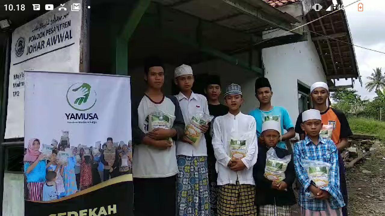 Hasmi Berbagi ke Pondok Tahfidz Tradisional di Kab Bogor