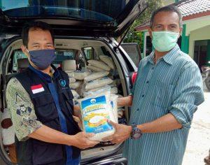 72 Paket Pangan untuk Warga yang Sangat Membutuhkan disaat Merebaknya Wabah Corona