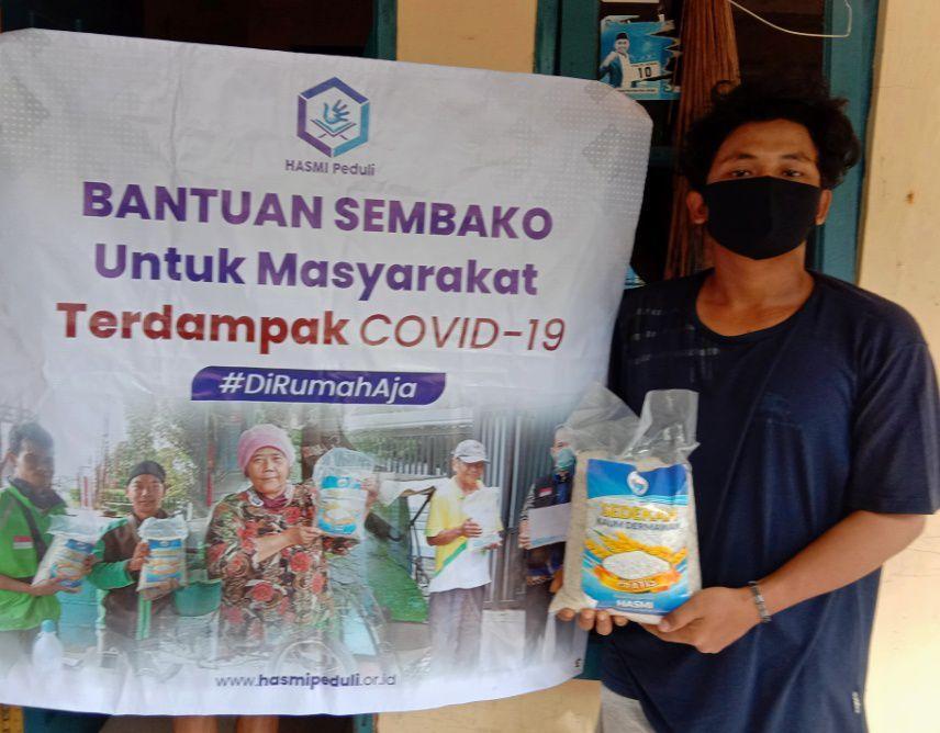 Berbagi Pangan untuk Masyarakat Terdampak Corona di 3 Wilayah Berbeda