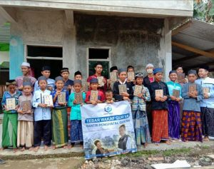 Bantuan untuk Santri Nurul Huda ditengah Wabah Corona