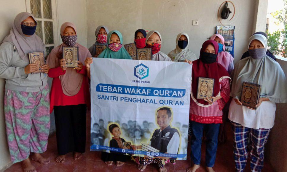 Wakaf Qur'an untuk Majlis Ta'lim Nurul Hidayah
