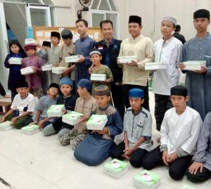 Buka Bersama dengan Para Santri Imam Hafs Kemang Bogor