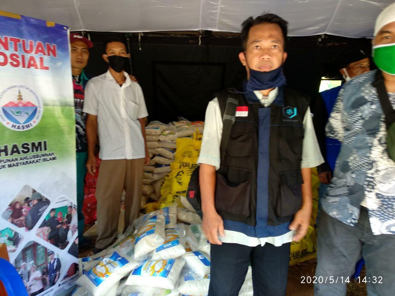 Hasmi Tanggap Bencana Banjir Longsor Lewisadeng Bogor