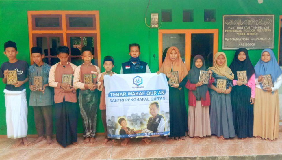 30 Mushaf Qur'an untuk Santri Penghafal Qur'an Nurul wasilah