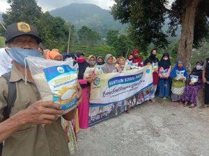 Hasmi Peduli Berbagi Pangan untuk Dhuafa, Lansia, Yatim dan Fakir Miskin Cisarua Bogor