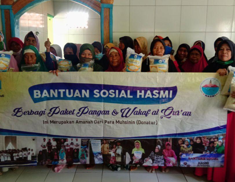 Bantuan Rutin dari Hasmi untuk Dhuafa, Mualaf dan Yatim Kec Ciranjang, Cianjur