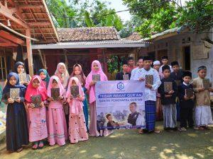Bantuan Pangan dan Mushaf Al-Qur'an untuk Santri Ponpes Daarul Ulum Barokah Huda Bogor