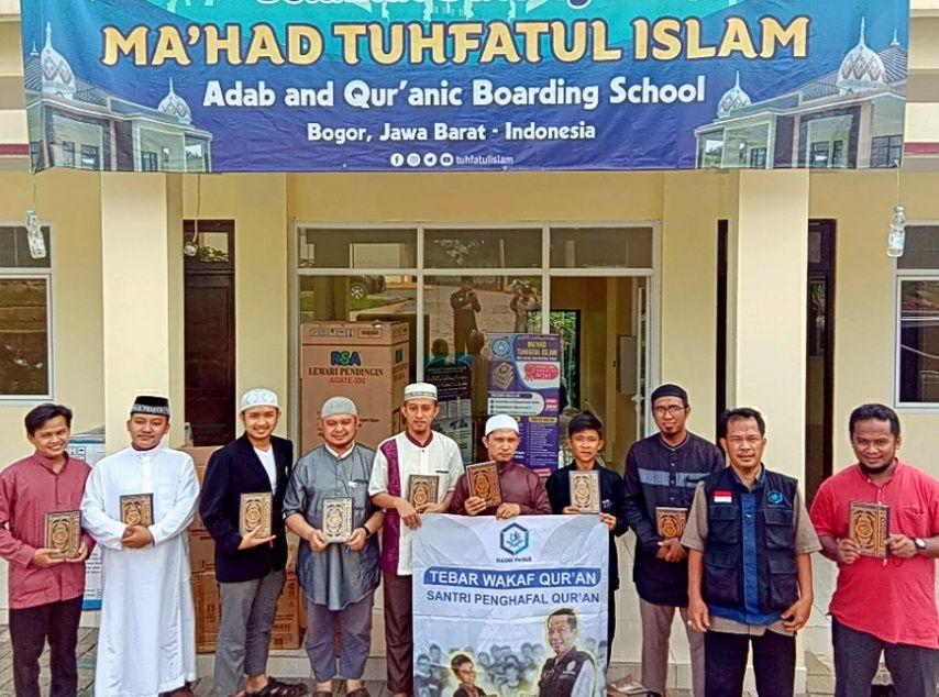 Mushaf Al-Qur'an untuk Santri Penghafal Al-Quran Ma'had Tuhfatul Islam Bogor