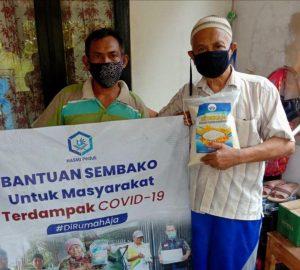 Bantuan Pangan untuk Para Dhuafa Kec Tajur Halang Bogor