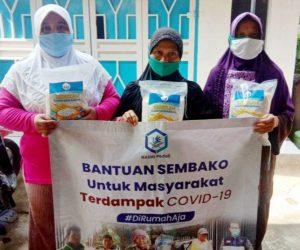 Bantuan Pangan untuk Warga Terkena Dampak Covid 19 Bojong Gede Bogor