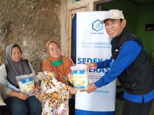 Distribusi Bantuan untuk Warga Kp. Cangkrang Bogor
