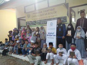 Distribusi Al-Qur'an ke Pondok Tahfidz Cinta Al-Qur'an