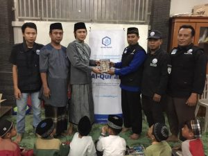 Distribusi Mushaf Al-Qur'an ke Majelis Taklim dan Yayasan Mazroatul Awliya Tanggerang