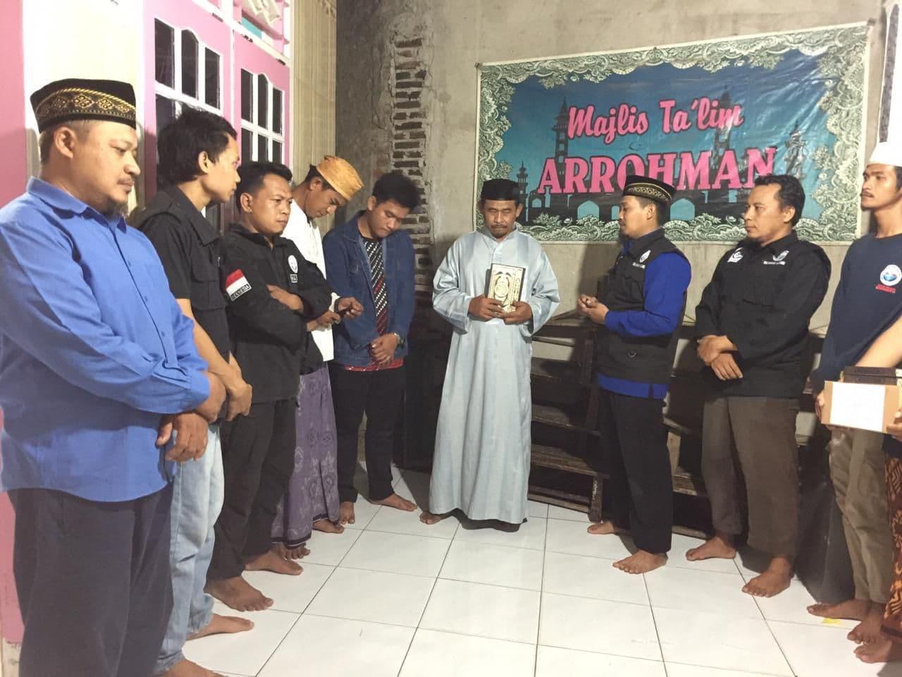 Wakaf Al-Qur'an untuk Majelis Taklim Arrohman