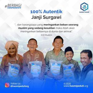 100% Autentik Janji Surgawi