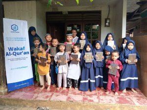 Wakaf Al-Quran untuk TPA Nurul Hidayah Parung Bogor