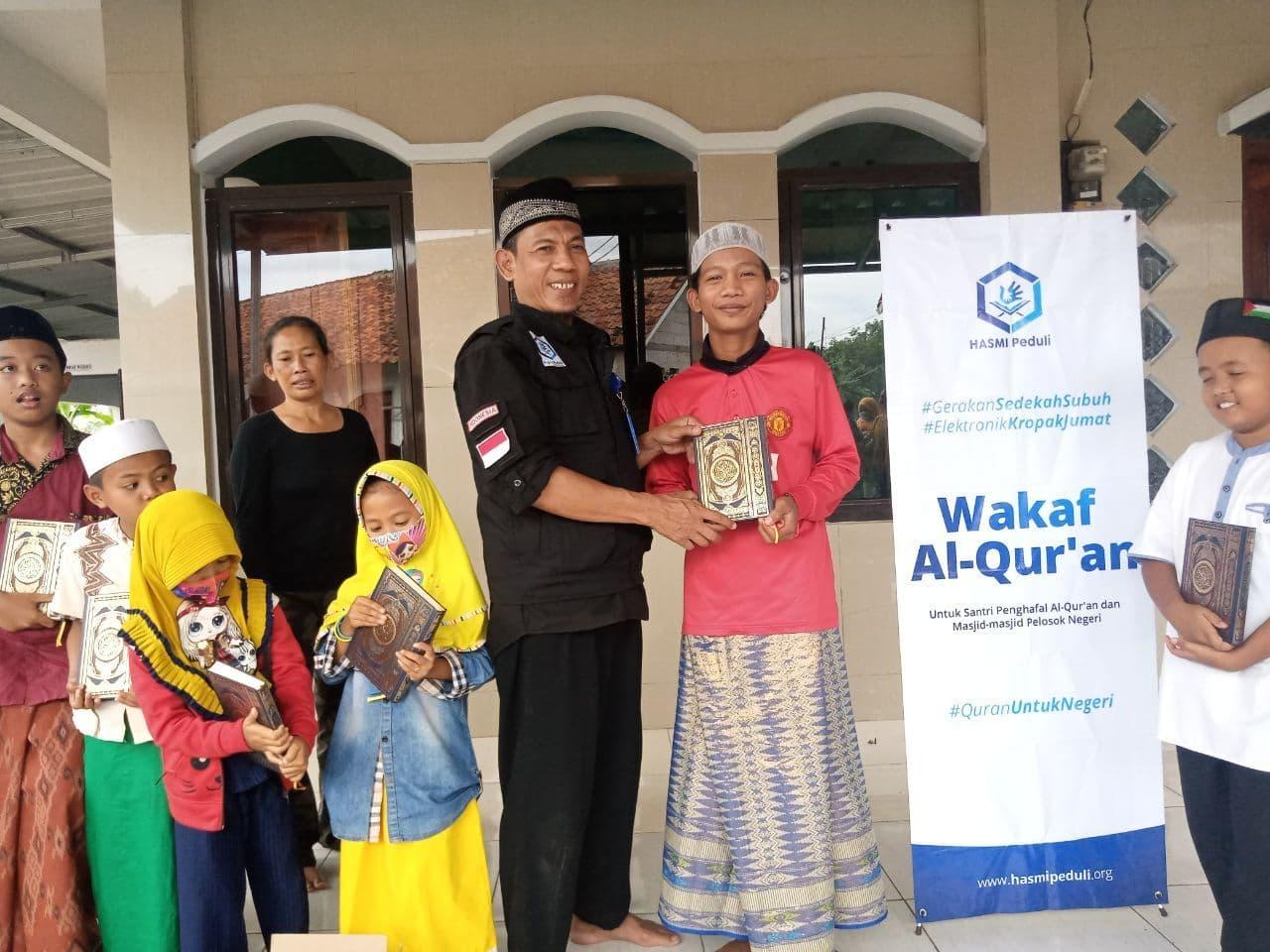 Bantuan Mushaf Al-Qur'an untuk TPQ Al-Asiun Bogor