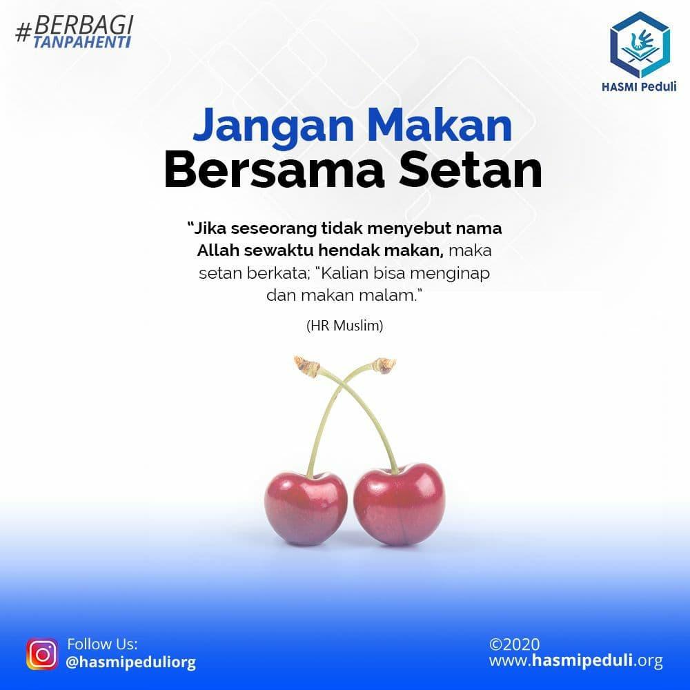 Jangan Makan Bersama Setan