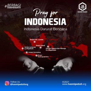 Pray For Indonesia Hasmi Peduli