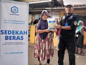 Bantuan Pangan untuk Yatim dan Dhuafa Cibungbulang Kab Bogor