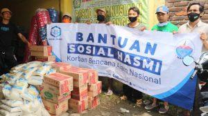 Bantuan Pangan dan Logistik untuk Korban longsor Sumedang