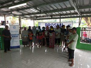Distribusi Pangan ke Warga Desa Mandasari Bekasi