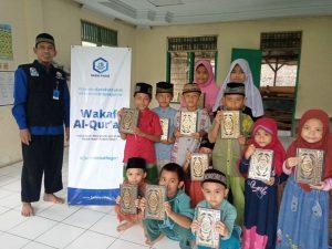 Distribusi Wakaf Al-Quran untuk TPQ Dzikrullah Kab.Bogor