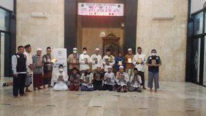 Distribusi Mushaf Al-Quran untuk Masjid Jami at-taqwa