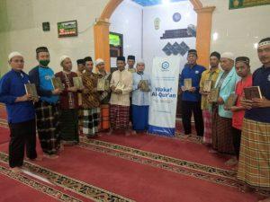 Distribusi Mushaf Al-Quran untuk Masjid Jami Ulil Albab