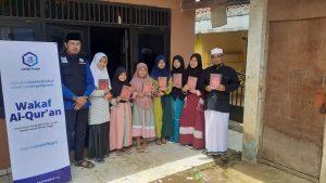 Wakaf Al-Qur'an untuk Ponpes Raudhatul Mubtadin Kab Bogor