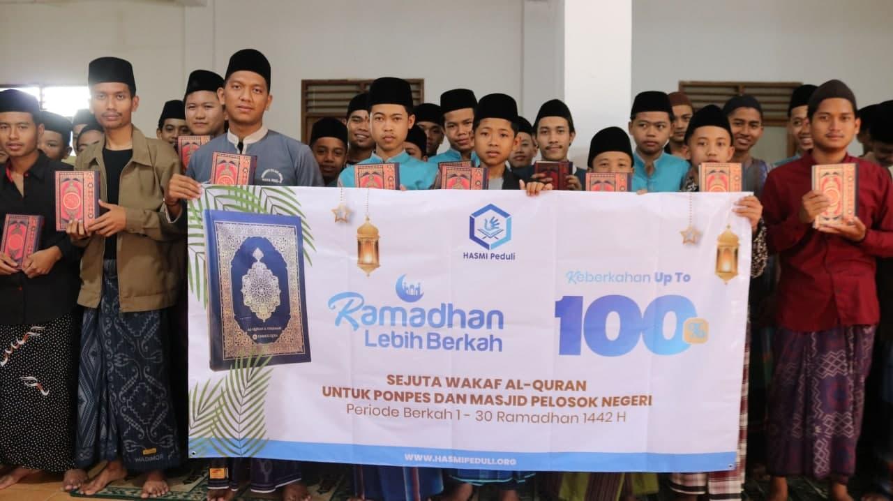 1000 WAKAF AL-QURAN UNTUK PLOSOK SUKABUMI