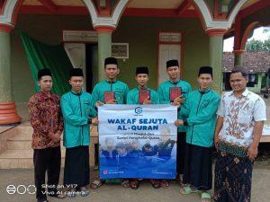Wakaf Al-Qur'an untuk Ponpes Roudhotut Tholibin Jepara