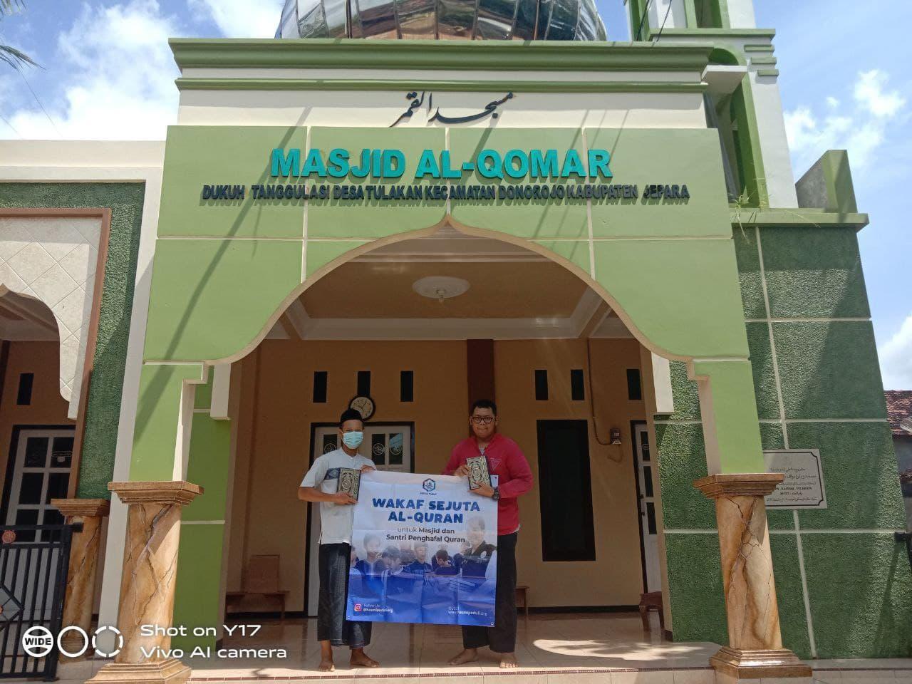Wakaf Al-Quran untuk Musholla Miftahul Huda Jepara