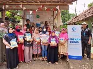 Laporan Kegiatan Sosial DPW Hasmi, Leuwiliang Bogor