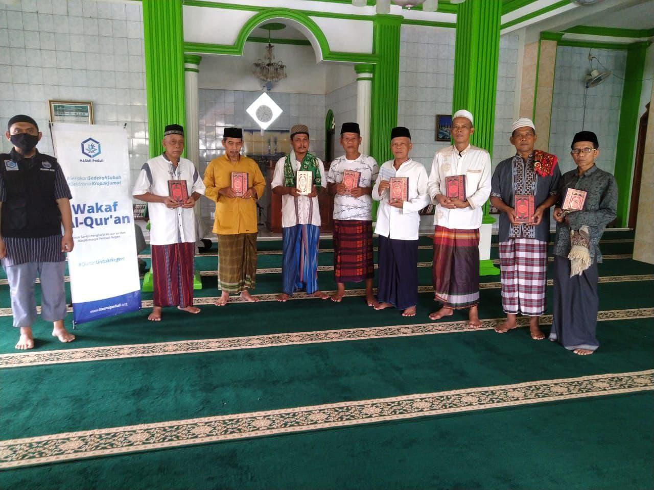 Laporan Kegiatan Sosial Hasmi DPW Depok
