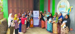 Laporan kegiatan sosial Hasmi Sukabumi