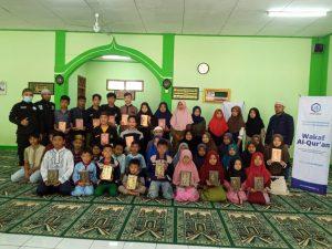 Sedekah Beras dan Wakaf Al-Quran di Ponpes Amar bin Yasir Sukabumi
