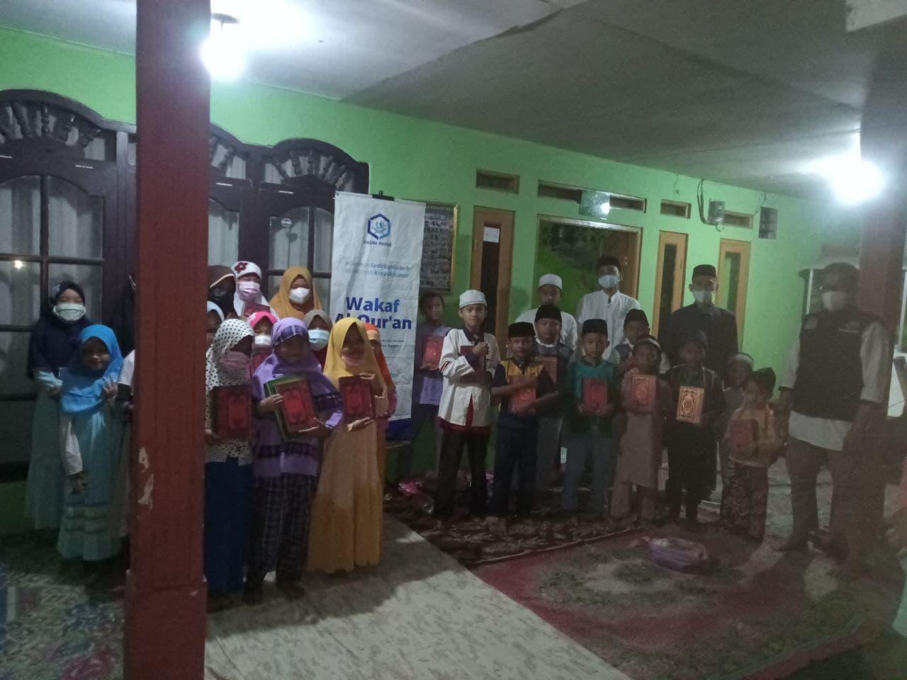 Wakaf Al-Quran untuk Anak-anak Pengajian