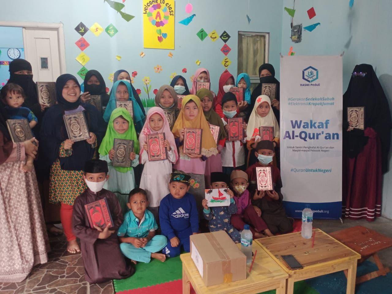 Wakaf Al-Quran untuk TPQ Samudra Ilmu Bogor