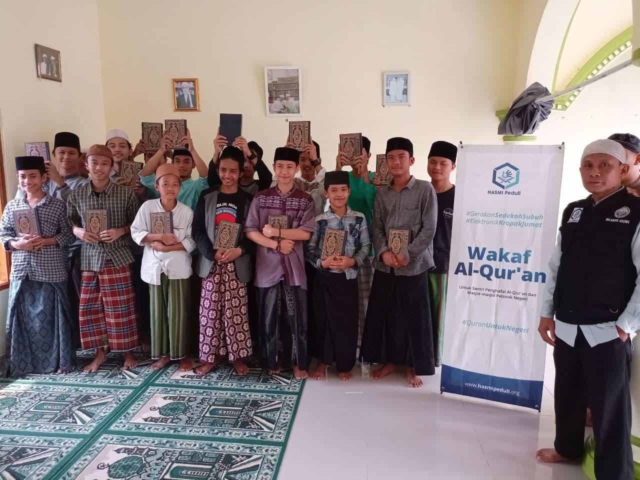 Wakaf Al-Quran untuk Ponpes Al Bakriah Kab Bogor