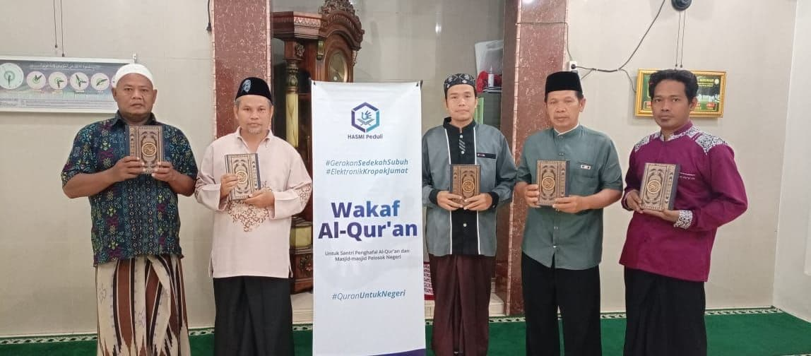 Wakaf Al-Qur'an untuk Musholla Al-Hikmah Bekasi