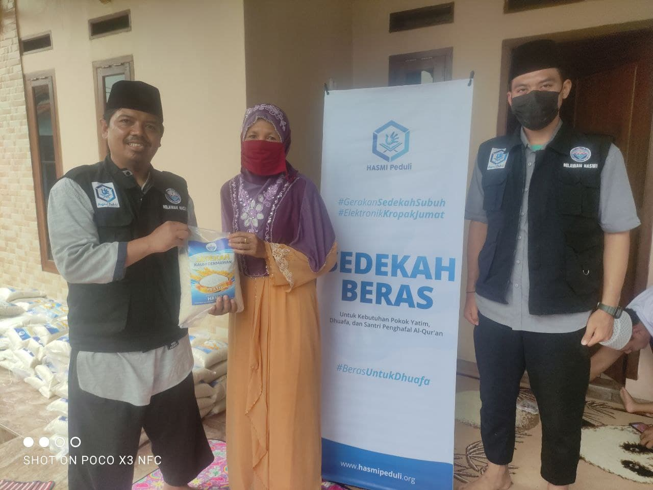 Laporan Kegiatan Sosial Hasmi DPW Tangerang