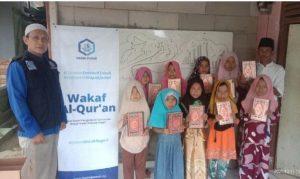 Wakaf Al-Quran untuk TPQ Ar-Rohmah Tamansari Bogor