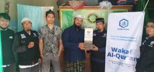 Wakaf Al-Qura'an untuk Yayasan Daarun Ni'mah