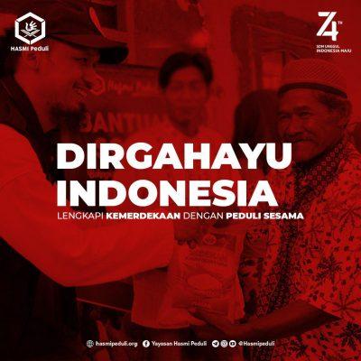 DIRGAHAYU INDONESIA 74 Thn
