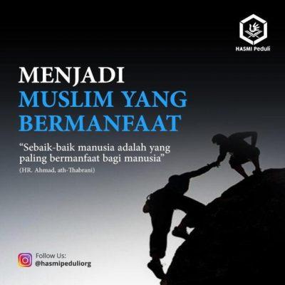 Menjadi Muslim Yang Bermanfaat